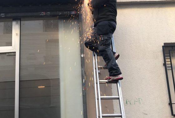 Réparation rideau métallique Chatou - 78400