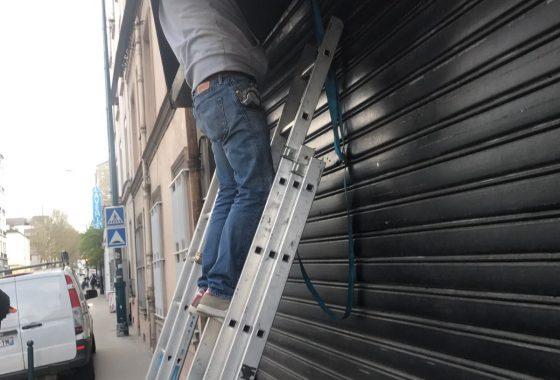Réparation rideau métallique Trappes - 78190