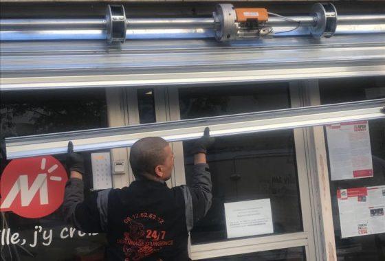 Réparation rideau métallique Montigny-le-Bretonneux - 78180