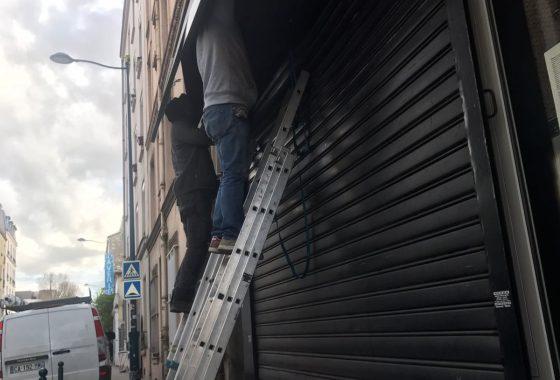 Déblocage rideau métallique Guyancourt - 78280