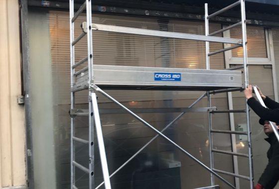 Déblocage rideau métallique Maurepas - 78310